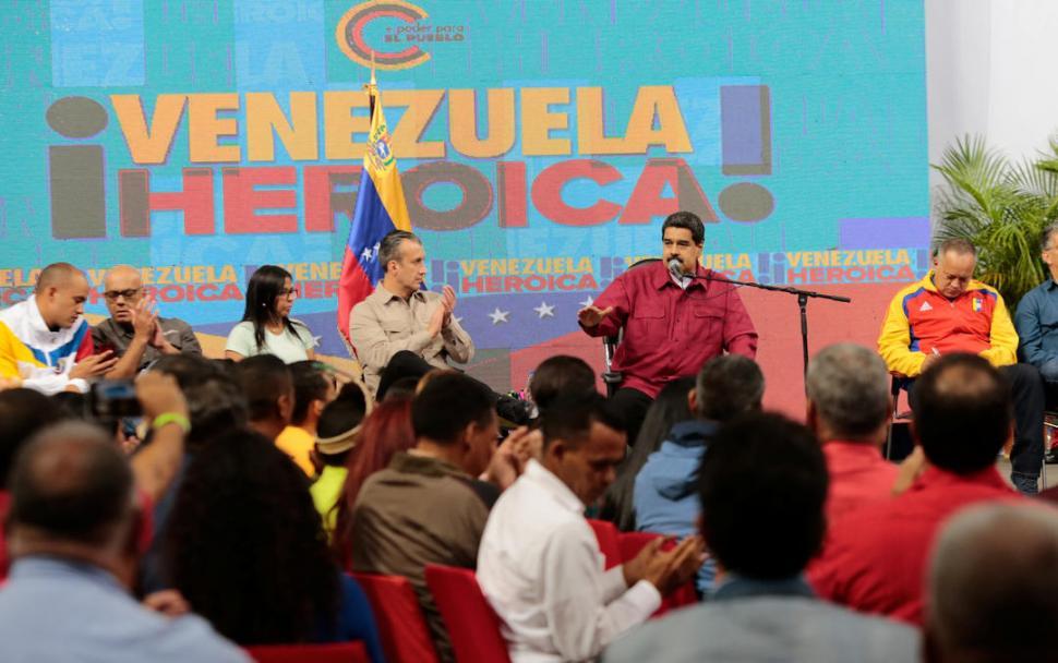 Fanb respondió con moral y valentía al ataque terrorista — Maduro