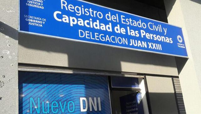 El Registro Civil abrirá el sábado y domingo de las PASO