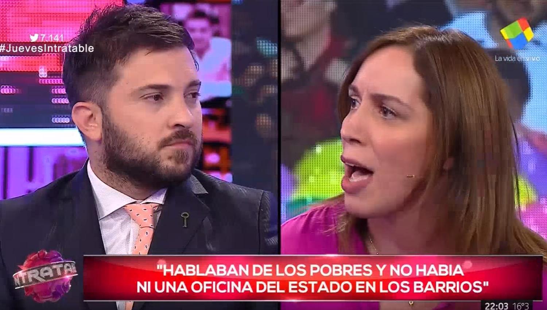 Brancatelli le respondió a María Eugenia Vidal por Twitter después del cruce