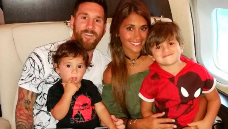 ¿Se viene el tercero de Messi?: Antonella Roccuzzo estaría esperando otro hijo