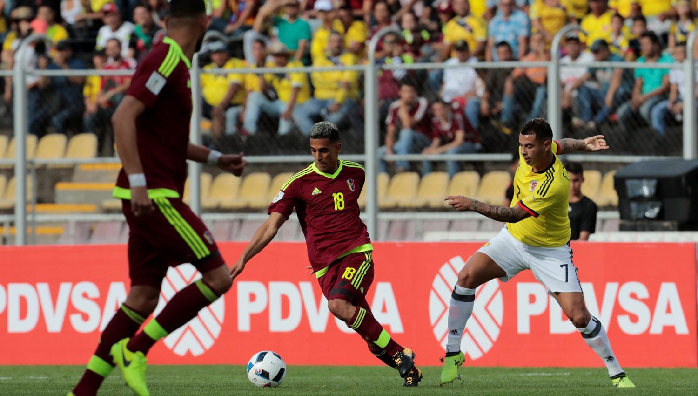 Colombia no pudo con Venezuela y le dio una mano a Argentina