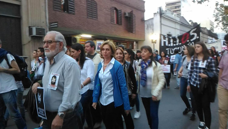 Beatriz rojk s particip de la marcha por santiago - La gaceta tucuman ...