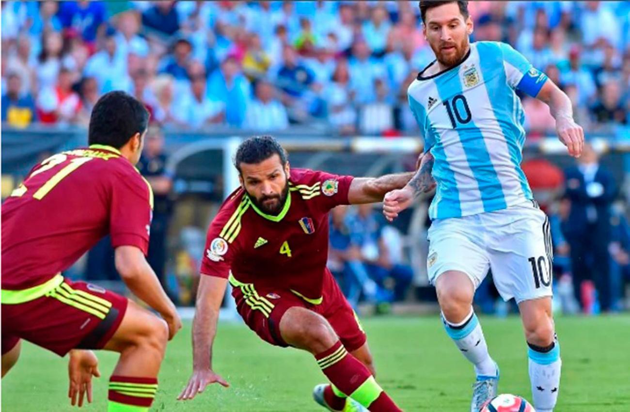 Argentina empata ante Venezuela