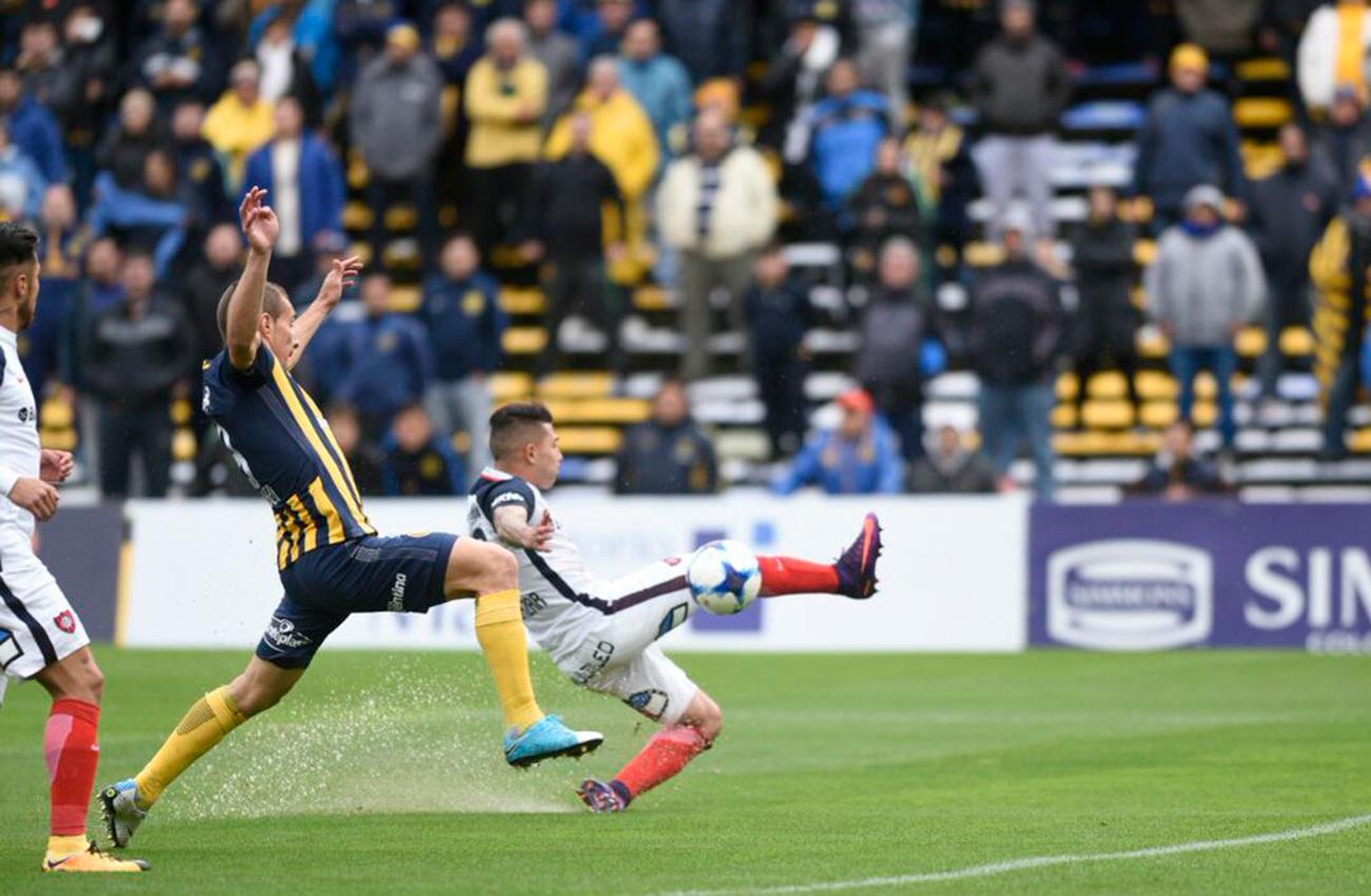 San Lorenzo con equipo alternativo visita a Central