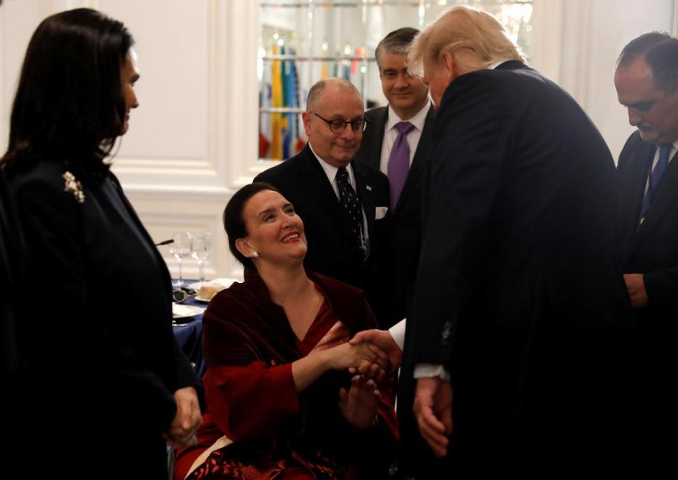 CUMBRE. Michetti cenó con Trump para analizar la situación de Venezuela. dyn