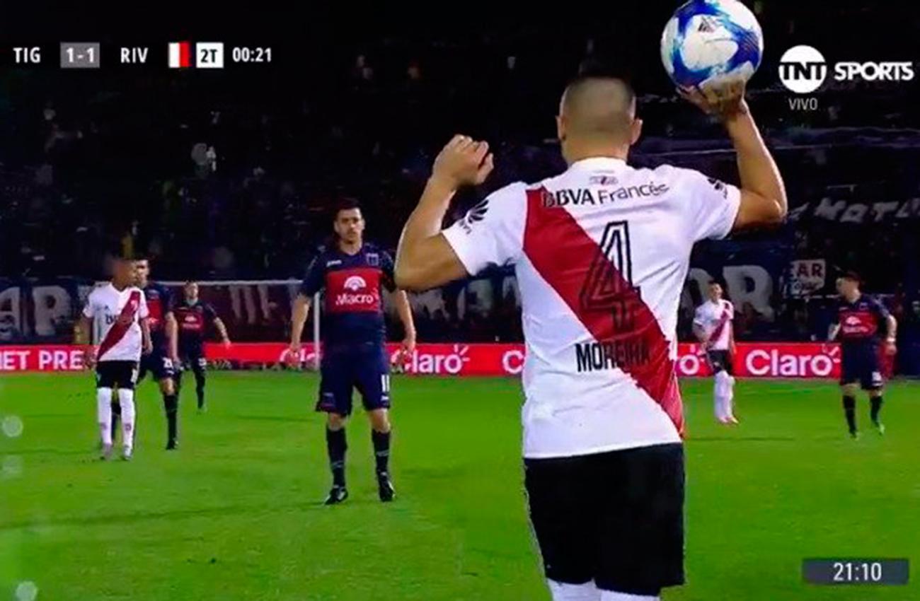 River empató 1-1 con Tigre