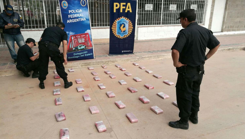 Incautan cocaína valuada en $4 millones — Santiago del Estero