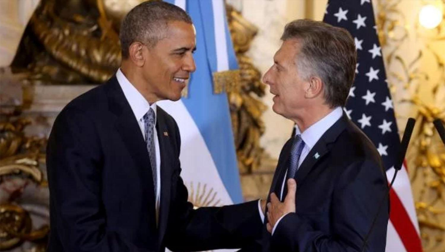 Macri recibió a Obama y jugaron al golf en Bella Vista