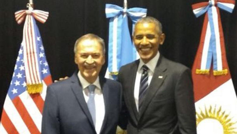 Macri recibió a Obama y jugaron al golf en Bella Vista