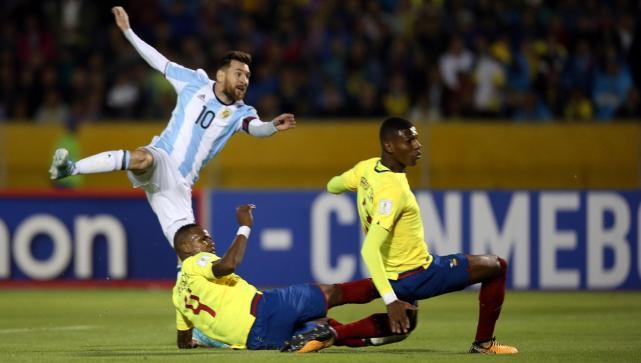 Resultado de imagen para gol de Messi en ecuador