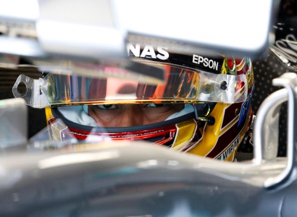 Hamilton se lleva ensayos del GP de Estados Unidos