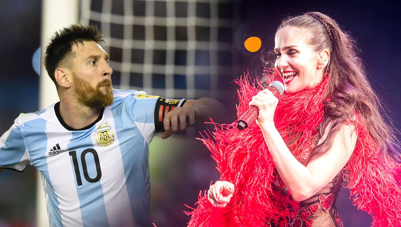 En Rusia, Natalia Oreiro es más famosa que Lionel Messi