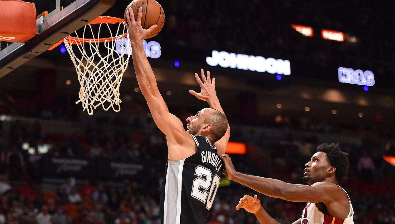 NBA: Buen aporte de Ginóbili en la victoria de San Antonio Spurs