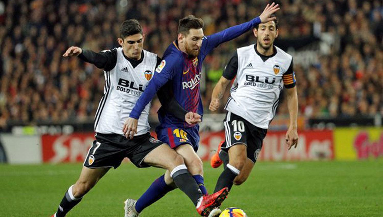 El increíble gol que le anularon a Lionel Messi