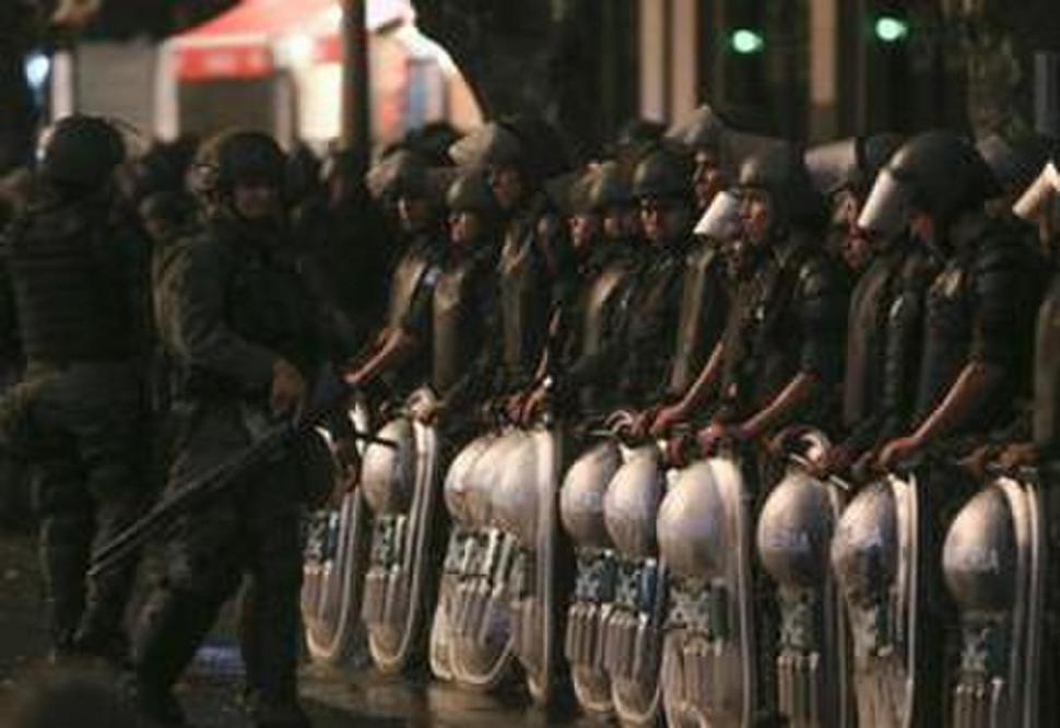Comenzó el operativo de seguridad frente al Congreso — Reforma previsional