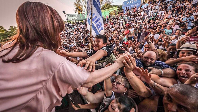 Argentinos no retrocedáis más para atrás en 2018 — CFK