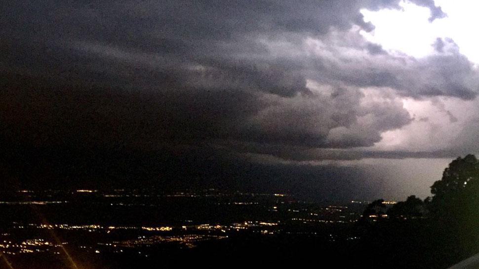 Nueva alerta por tormentas fuertes en Mendoza