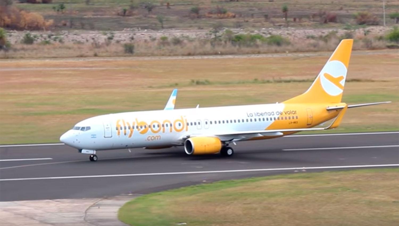 Comienza la venta de pasajes de Flybondi