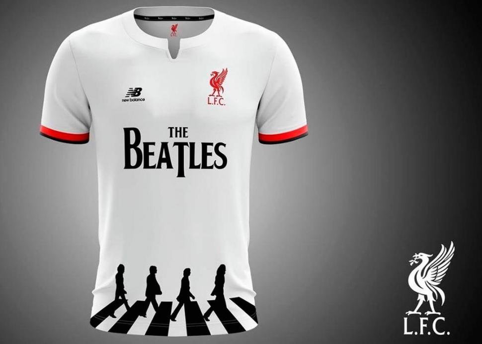 Liverpool jugaría con The Beatles en su camiseta
