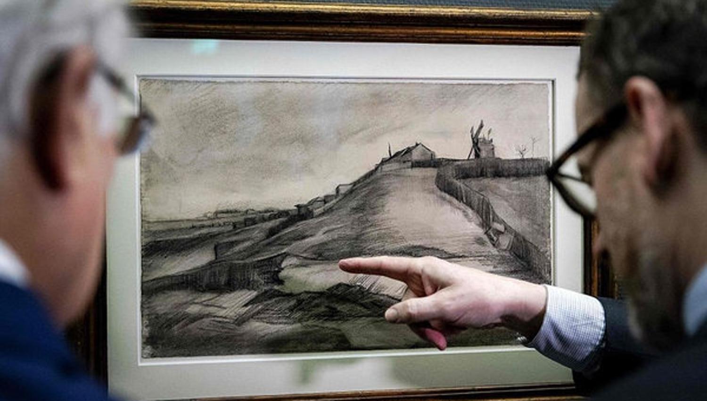 Confirman autenticidad de dibujos de Van Gogh en histórico hallazgo