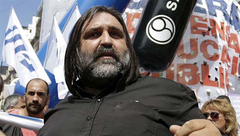 Nuevas amenazas contra Roberto Baradel, dirigente de Ctera