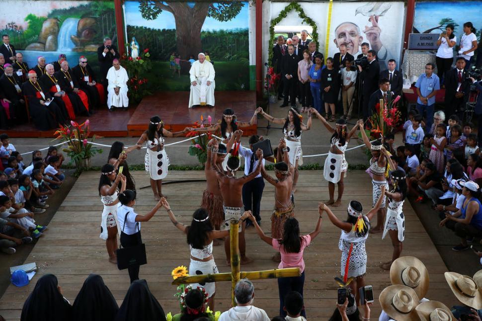 Estas fueron las palabras de despedida del papa Francisco en Perú