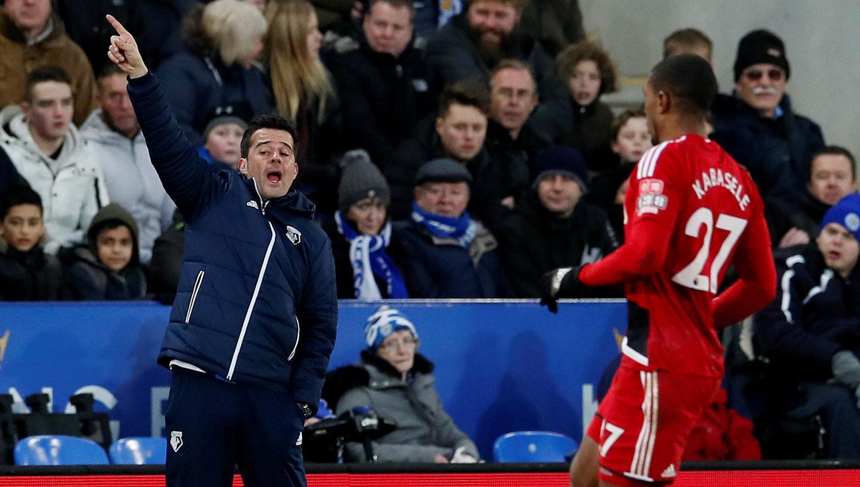 André Carrillo se quedó sin director técnico en el Watford