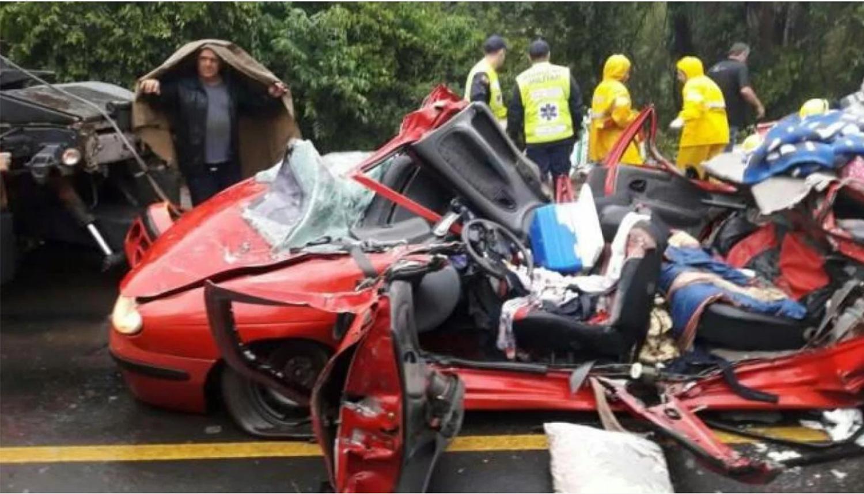 Tres argentinos murieron en un accidente de tránsito — Brasil