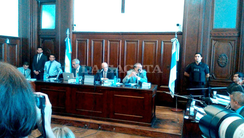 Habló Alberto Lebbos durante el cuarto intermedio en el Juicio