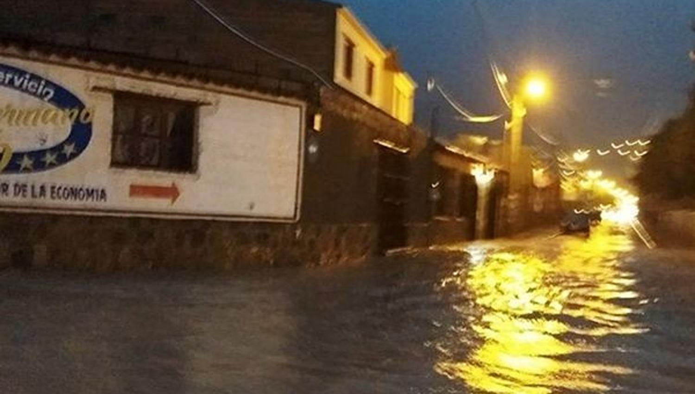 Las intensas lluvias en Tilcara generaron fuertes anegamientos — Jujuy