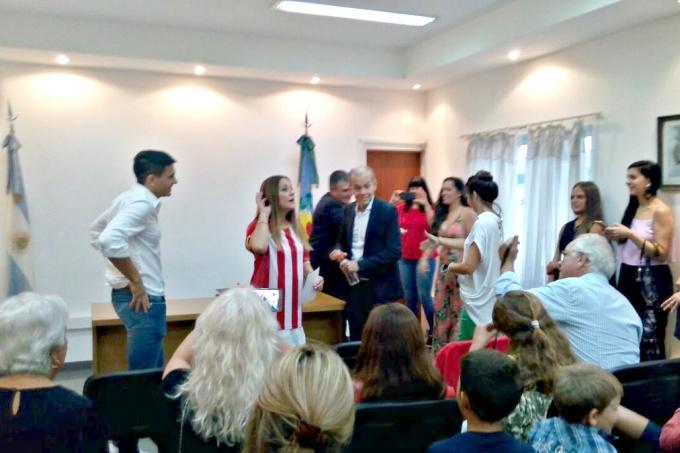 Se casó Alejandro Sabella