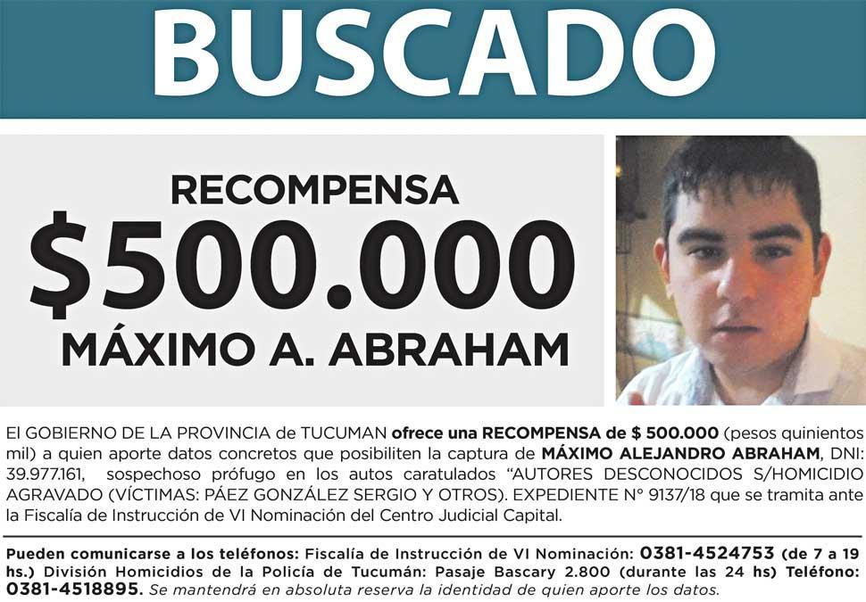 Crimen de los policías: Detuvieron a Máximo Abraham