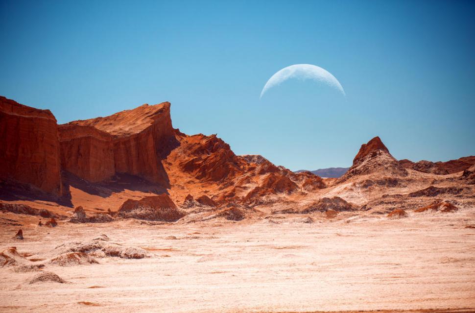 Un desierto en la Tierra revela las posibilidades de vida en Marte