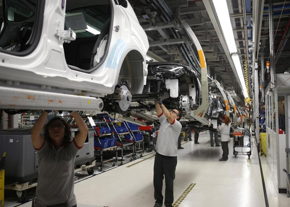 Fuerte aumento de la producción automotriz