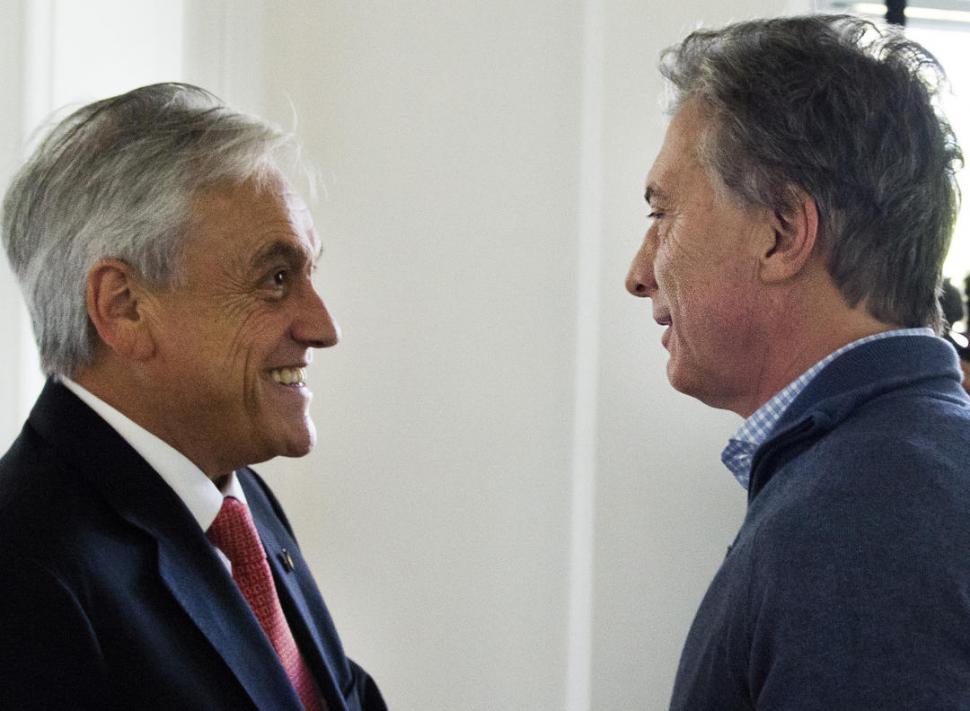 Macri se entusiasma con su alianza con Piñera