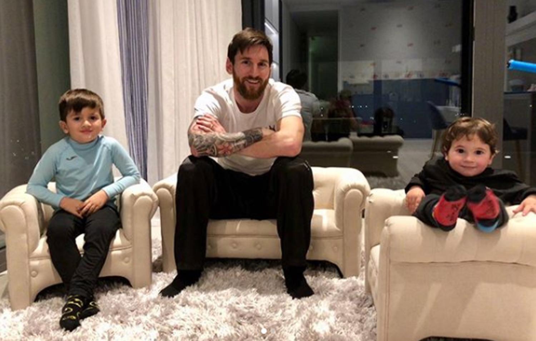 Nace el tercer hijo de Messi