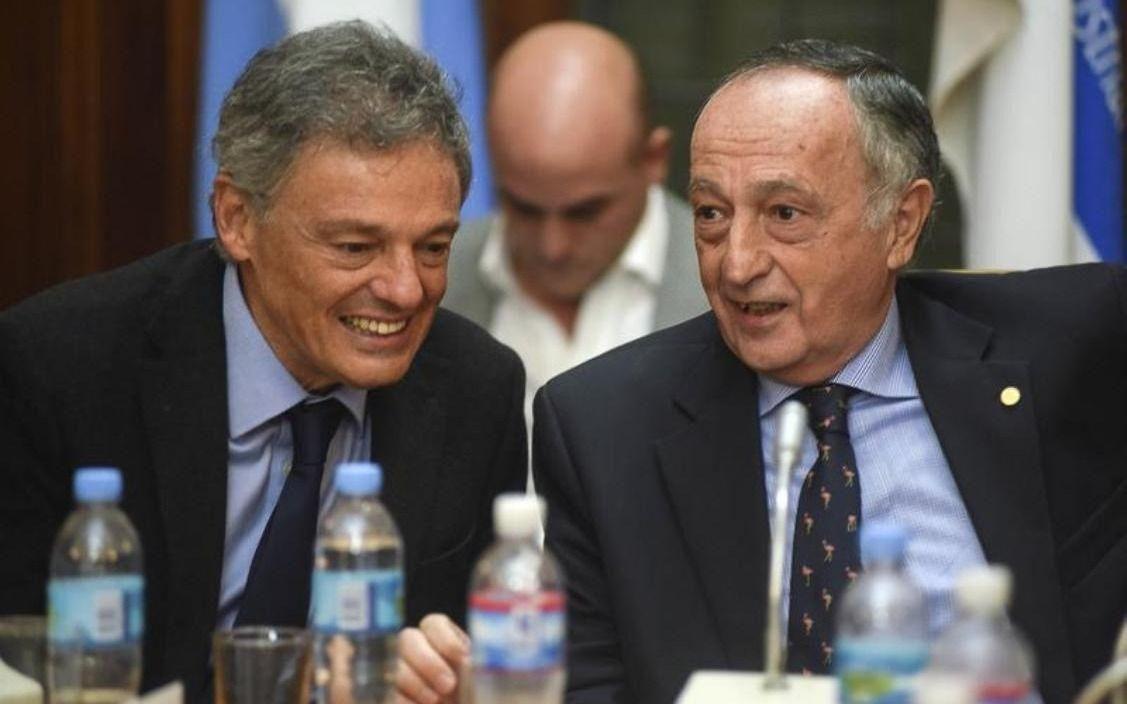 Peña y Cabrera reciben a la cúpula de la UIA