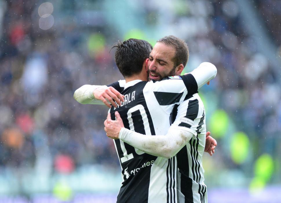 La Juventus ganó con dos goles de Dybala