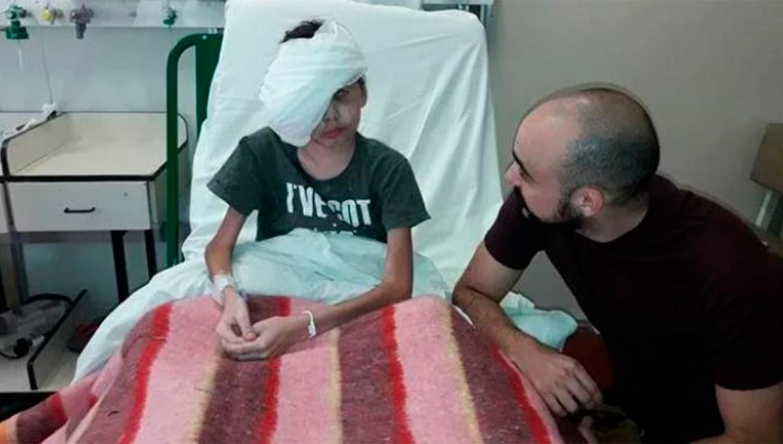 Abel Pintos le cumplió el sueño a Thiago, un niño con cáncer