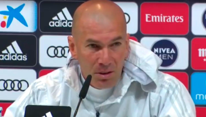 Zidane anunció que Real Madrid no hará pasillo al Barcelona