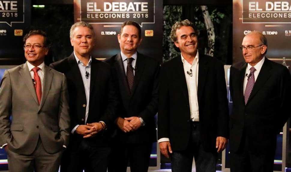 Ganó Duque pero habrá ballotage — Elecciones en Colombia
