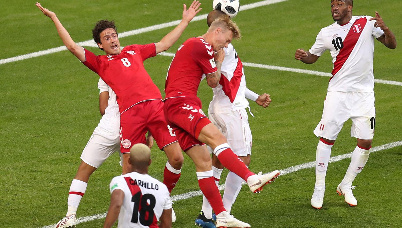 Dinamarca 'dinamitó' a Perú