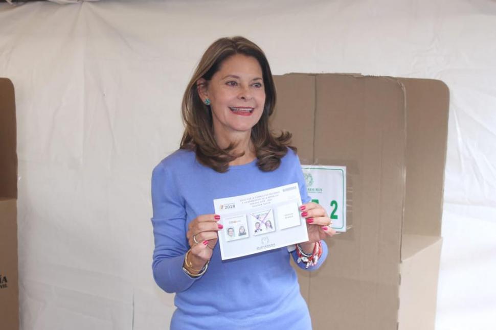 Marta Lucía Ramírez, primera vicepresidenta