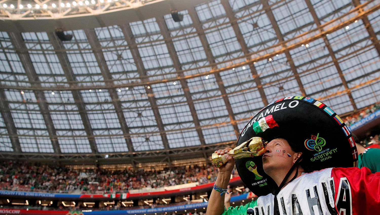 FIFA investiga a aficionados mexicanos por 'grito'