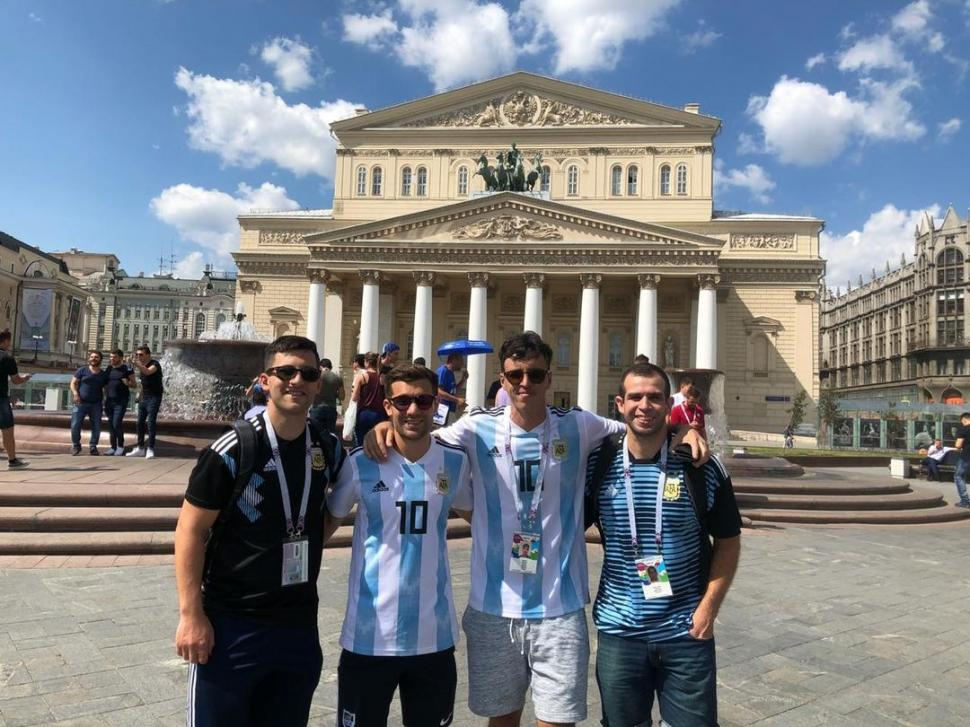 Identificaron a los 4 argentinos que agredieron a croatas en Rusia