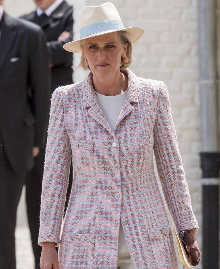 Noticias: Michetti recibió a la princesa Astrid de Bélgica