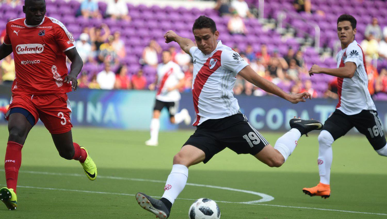 Mirá en VIVO: River empata ante Independiente Medellín