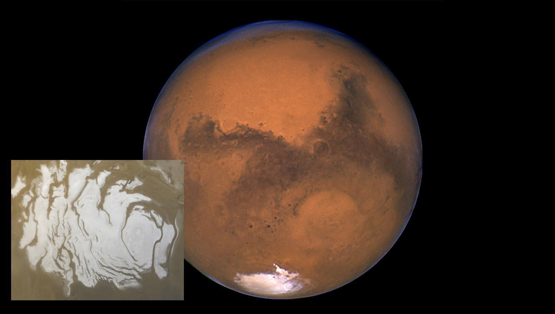 ¡Descubren un lago de agua líquida en Marte!