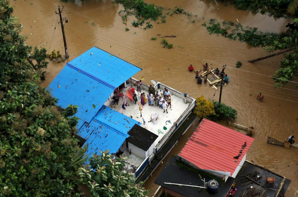 Actualidad: Las inundaciones devastan el sur de la India
