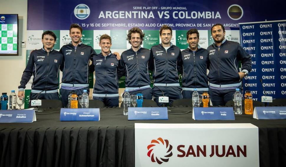 Zeballos ganó y cerró la serie de Copa Davis